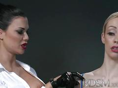 Bdsm xxx horny sub with massive tits lets mistress into her darkest secrets before the filth starts