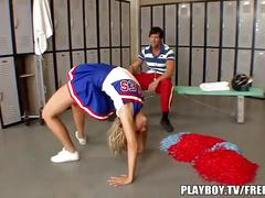 Coach fucks young cheerleader