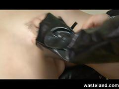 fetish, wasteland.com, kink, kinky, femdom, dominatrix, dildo, spanking, tied up, domination, sex and submission, orgasms, screaming, pussy torment, submissive, red head, bl