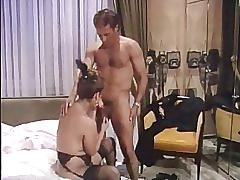 Horny old dad fucks his son's beautiful bride jenny, night before wedding!