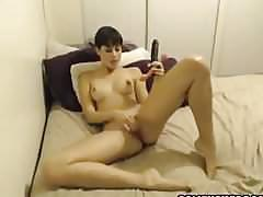 Nice tit amateur gf has multiple screaming orgasms