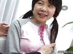 Girlish asian cutie needs special attention