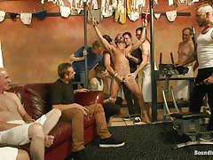 Sex slave gets tortured by group of gay men