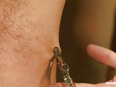whipping, slave, bound, gay handjob, gay domination, mouth gagged, nipple clamps, gay in chains, bound in public, kink men, connor patricks, christian wilde, jessie colter