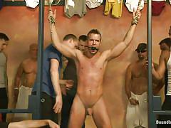 Sex slave gets tortured by group of gay men