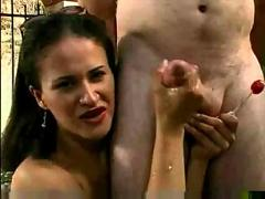 Gala cruz gives hot hanjob