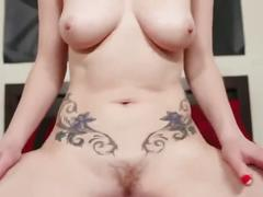 brunette, pov, small tits, uniforms, school, petite, natural tits, point of view, tattoo, joi