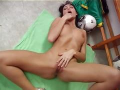 Fabulous girl solo masturbation