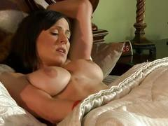 Busty brunette milf kendra lust gets banged hard