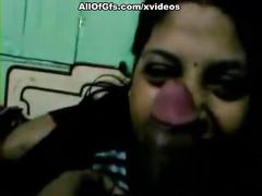 Indian gf blowjob big dick