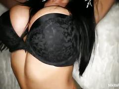 Nikita in naughty lesbian threesome