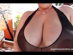 Angelina castro fucking her huge round ass