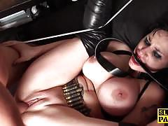 Dominated babe fucked hard and rough