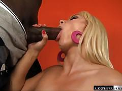 Big black cock fuck for beautiful blonde lea lexus