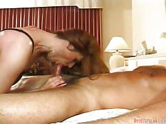 Brunette shemale sucking cock @ transsexual prostitutes #08