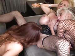 Very hot cougars threesome - nicky ferrari