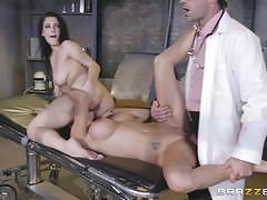 Peta jensen and noelle easton gets fucked in the laboratory