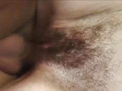 Hairy girl fuckin