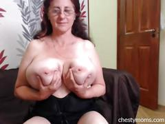 amateur, big tits, mature, webcam, chestymoms, big-boobs, old, chubby, busty, granny, granny-boobs, old-boobs, busty-grandma, titten, brunette, natural-tits, teasing