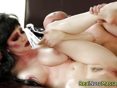 babe, big boobs, handjob, hardcore, massage, big tits, cumshot, fucking, brunette, hd, wanking