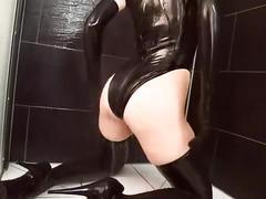 big tits, liquid-latex, busty, big-boobs