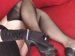 foot fetish, hd videos, nylon, stockings