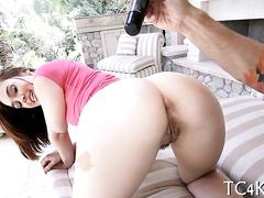 Doggystyle sex for curvy babe clip segment 1