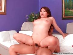Amazing asian whore shows her skills