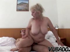 amateur, blonde, mature, euro, 60fps, vubado, older, european, milf, gilf, grandma, blowjob, busty, big-boobs, riding, blondie, hairy, cumshot, popshot