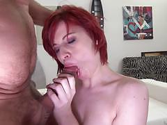 rocco siffredi, blowjob, riding, doggystyle, cumshot, ass, anal, reverse cowgirl, redhead, ass fuck, camera, pov, sucking, red hair