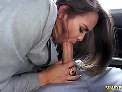 Bobbi rydell thrashed balls deep in her cute pussy