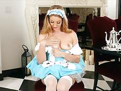 Masturbation and sext dress up from veronica weston