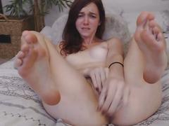 british, brunettes, masturbation