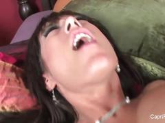 Busty capri cavanni fucks on the bed