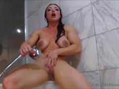 Eroticmusclevideos smooth bathing and brandimae's hardbody