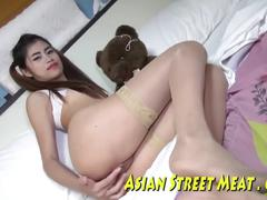 Privileged asian society girl