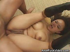 Brunette annie cruz gets her pussy drilled