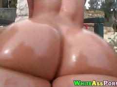 Big ass slut jada stevens throated and stuffed good outdoors
