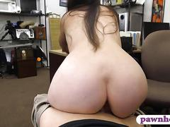 amateur, blowjob, brunette, hardcore, hidden cam, fucking, dress, riding, money for sex