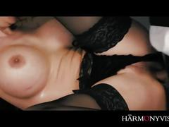 big tits, brunette, reality, anal, hungarian, harmonyvision, milf, big-tits, lingerie, stockings, babe, fingering, ass-fucking, female-orgasm, doggystyle, cumshot, ass-fuck, shaved