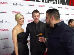 Pornhubtv sophia knight & danny d red carpet 2015 avn interview