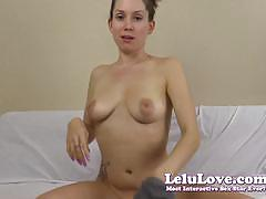 Racy lelu love exposes her ass