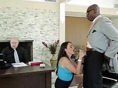 Claudia valentine fucks bbc in front of her man