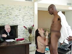 Claudia valentine fucks bbc in front of her man