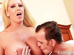 alura jenson, blowjob, cumshot, blonde, hot, sexy, handjob, sideways, man, cute, kinky, trio, bisexual