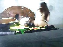 Desi bangla cute lovers having sex in home