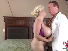 Claudia marie gets her fake tits put back in!