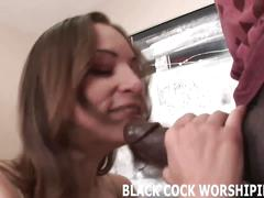I am going to worship two big black cock at the same time