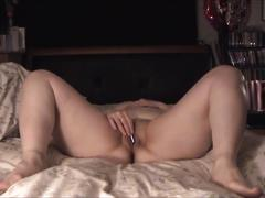 Hot creampie + amateur foreplay: hardcore fuck & cream pie