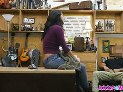 Pawnshop and jessi the latina where she gets it on